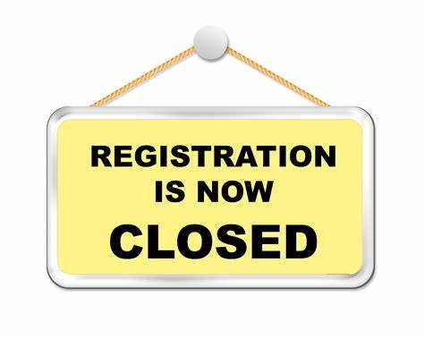 Registration Closed for 2020 Spring Season