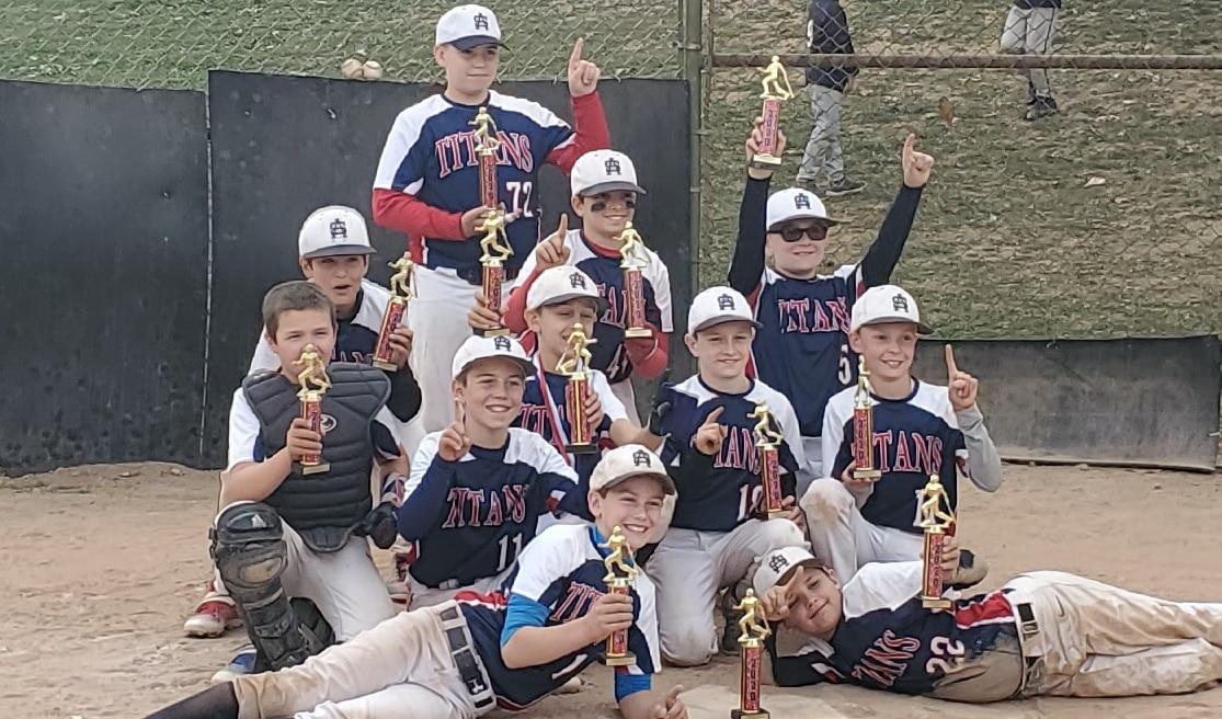11U Tournament Team Wins Saxonburg Wooden Bat Tournament