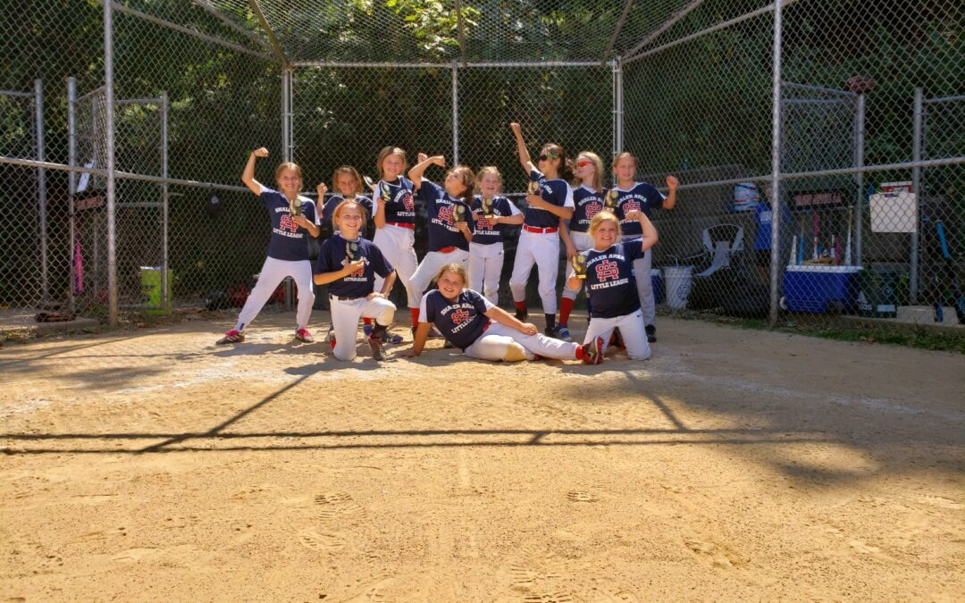 8U SALL Blue Team Wins SALL Slow Pitch Tournament