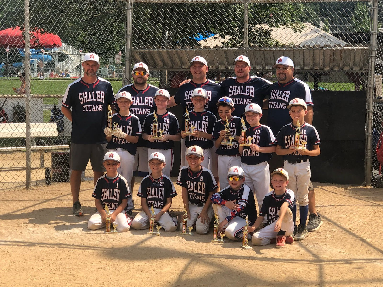 9U Boys take 2nd place in SALL Tournament