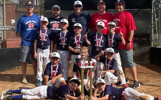 9U Team wins Jake Cooper League